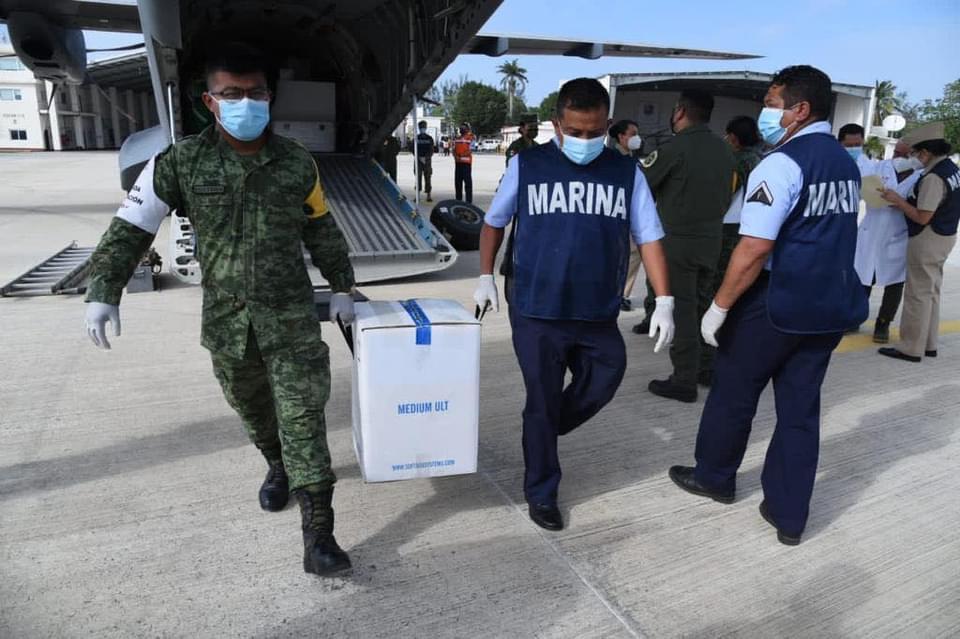 Confirma inició de la vacunación contra el Covid en la Ciudad de Veracruz