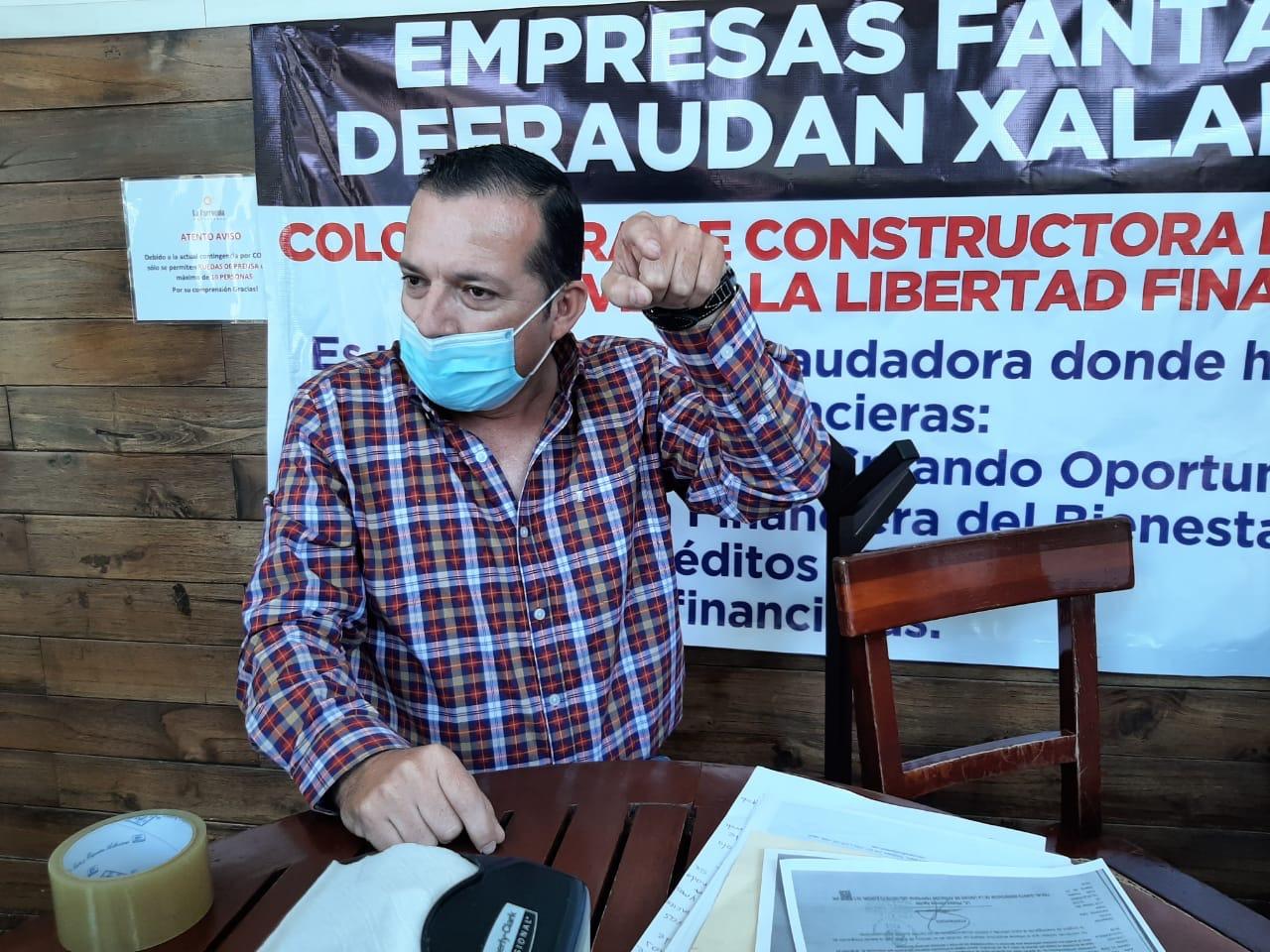 Ciudadano alerta sobre empresa que ha defraudado a cientos en Xalapa