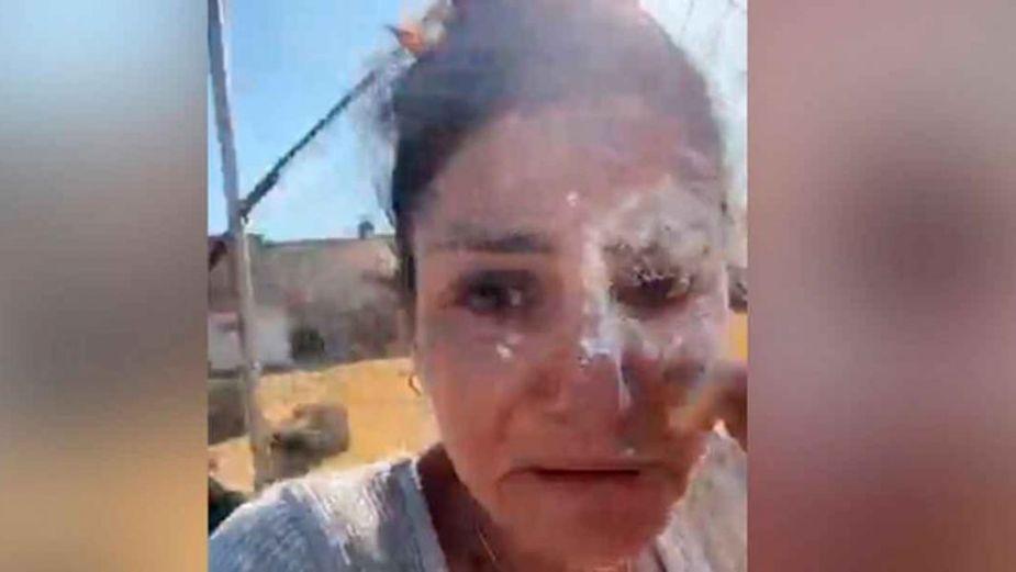 Diputada es nombrada como Lady Montajes tras VIDEO donde es atacada con harina