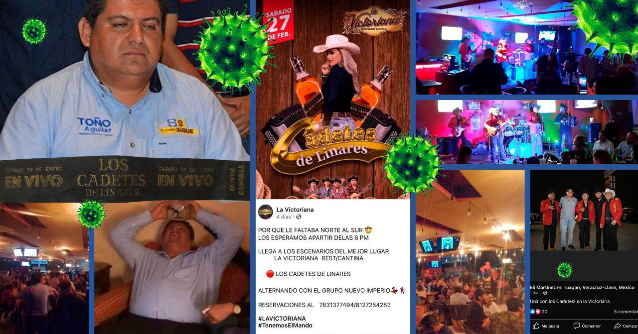 En su año de Hidalgo, alcalde panista de Tuxpan autoriza baile de Los Cadetes de Linares