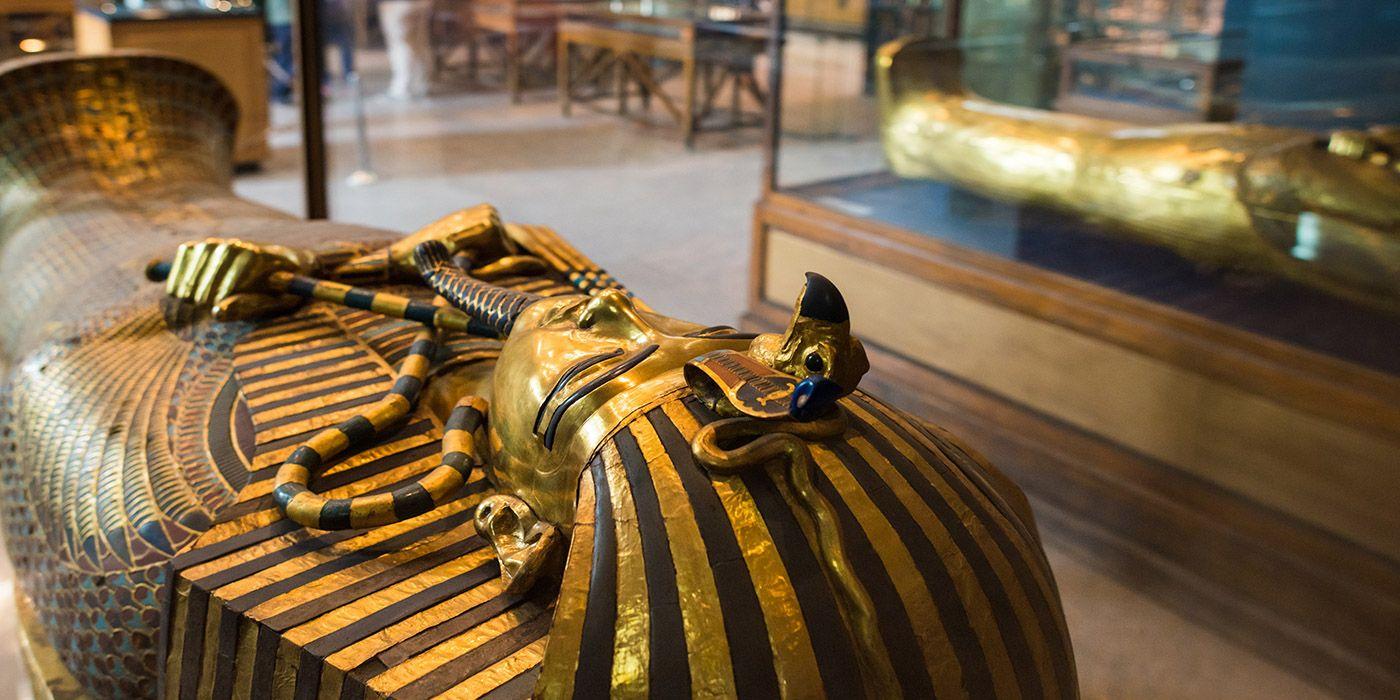 El museo de Egipto que mostrará el tesoro completo de Tutankamon