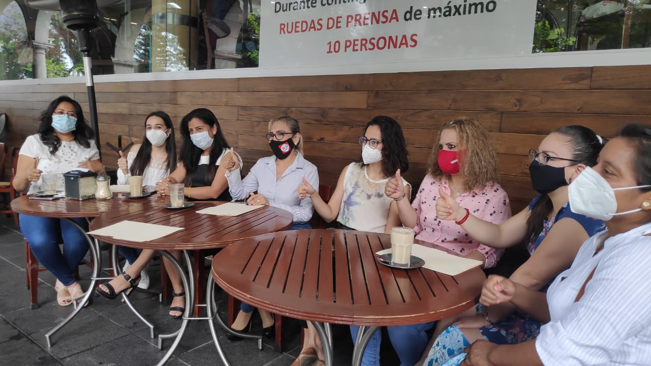 Mujeres de RSP rechazan que sea una mujer la candidata a la alcaldía de Xalapa