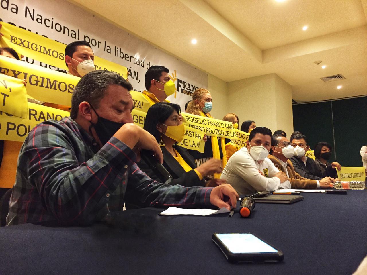 Inicia PRD jornada nacional por la libertad de Rogelio Franco