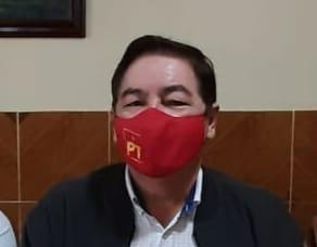 Respalda PT a Ahued para ser candidato de la alianza Morena-PT-PVEM