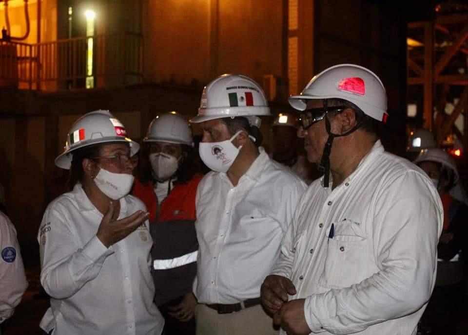 Sin fecha para reanudar actividades en refinería: Nahle