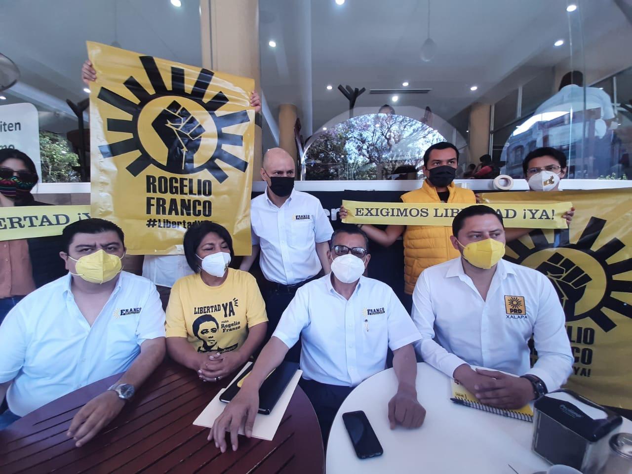 Pide PRD de Xalapa a Cuitláhuac dejar persecuciones y abrirse al diálogo