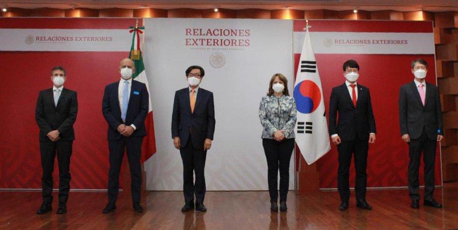 Corea dona a México insumos contra el Covid.