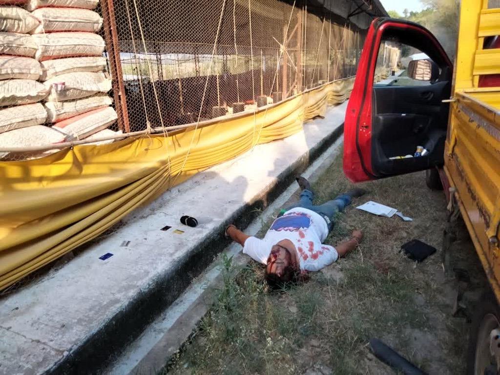 Asesinan a balazos a empleado de granja avícola, en Emiliano Zapata