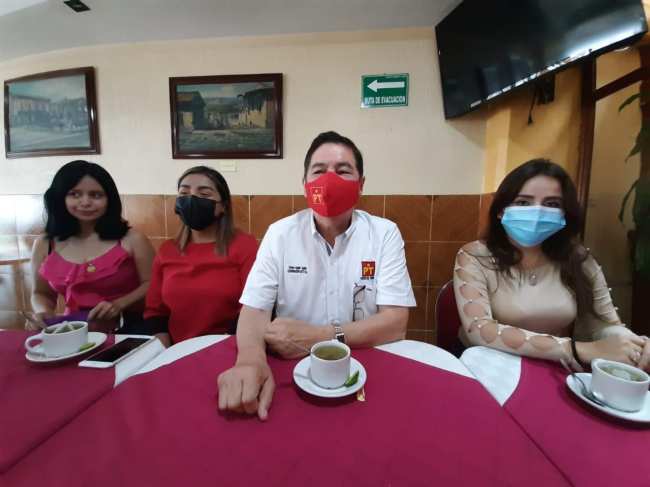 """Si a Ana Miriam le daba """"asco"""" Andrés Manuel ¿eso que?, cuestiona líder del PT"""
