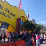 Detienen en Six Flags a dos jóvenes que intentaron entrar con subametralladora