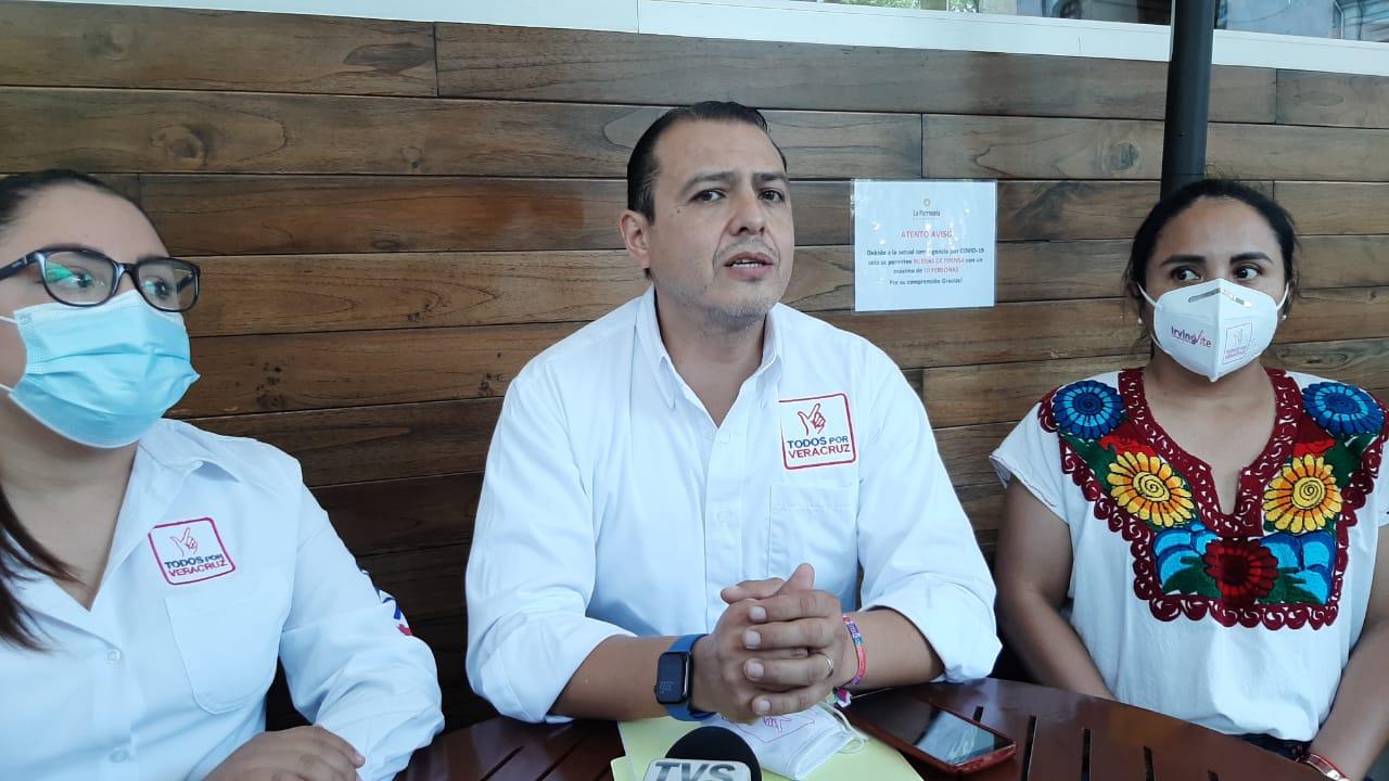 Candidato de Todos por Veracruz afirma que 60% de agua de Xalapa se pierde por fugas