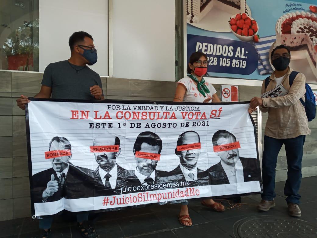 Niegan oportunismo político en consulta para enjuiciar a expresidentes