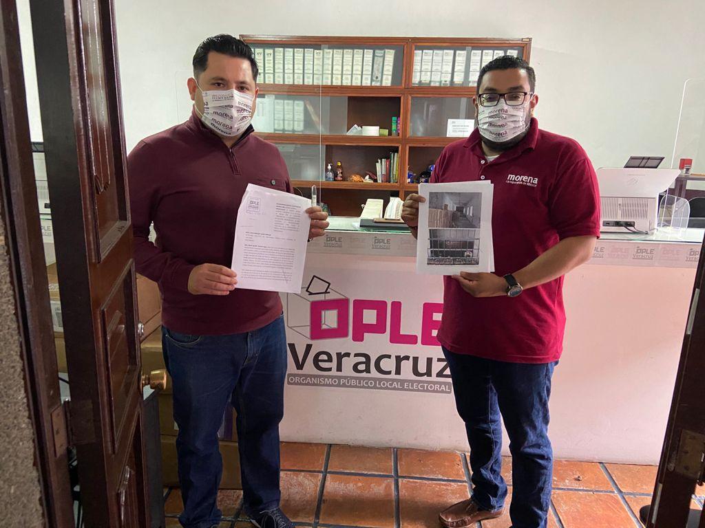 Alcalde de Perote resguardaba 9 mil despensas en Fortaleza de San Carlos para coaccionar voto por Pepe Yunes