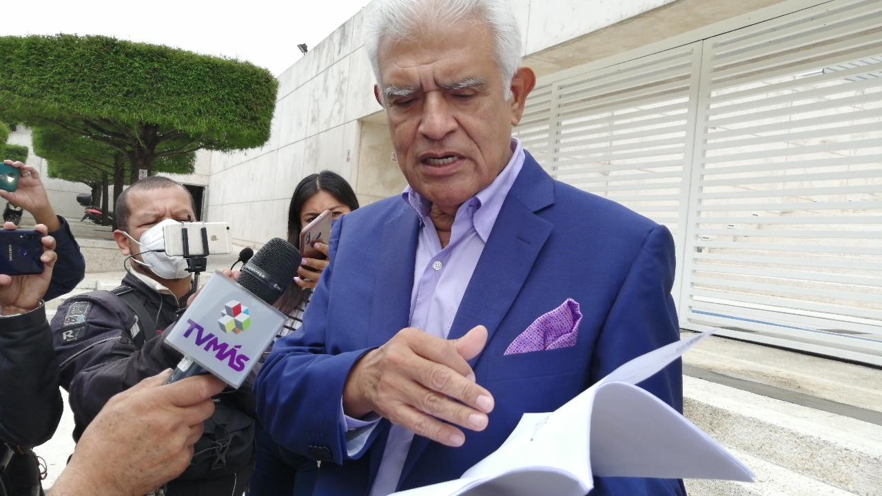 Presenta candidata de Morena denuncia contra los hermanos Yunes Márquez