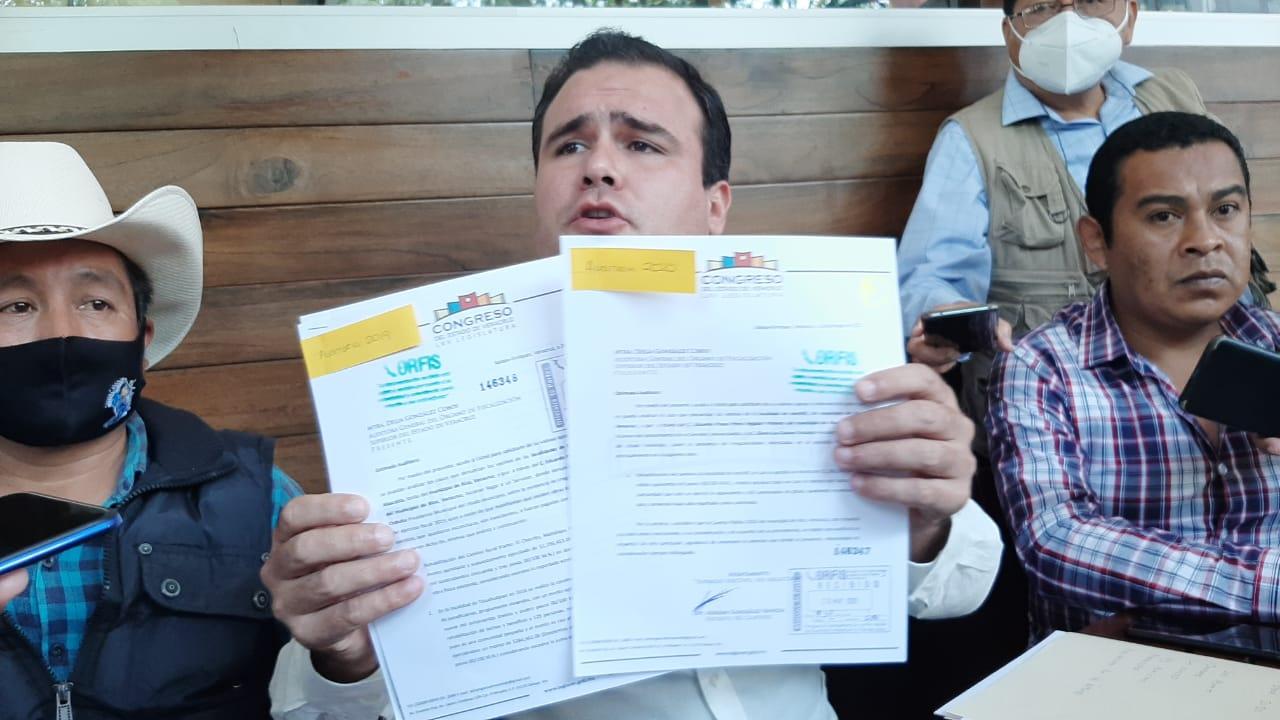 Acusa diputado desvío de recursos y obras fantasmas en Xico