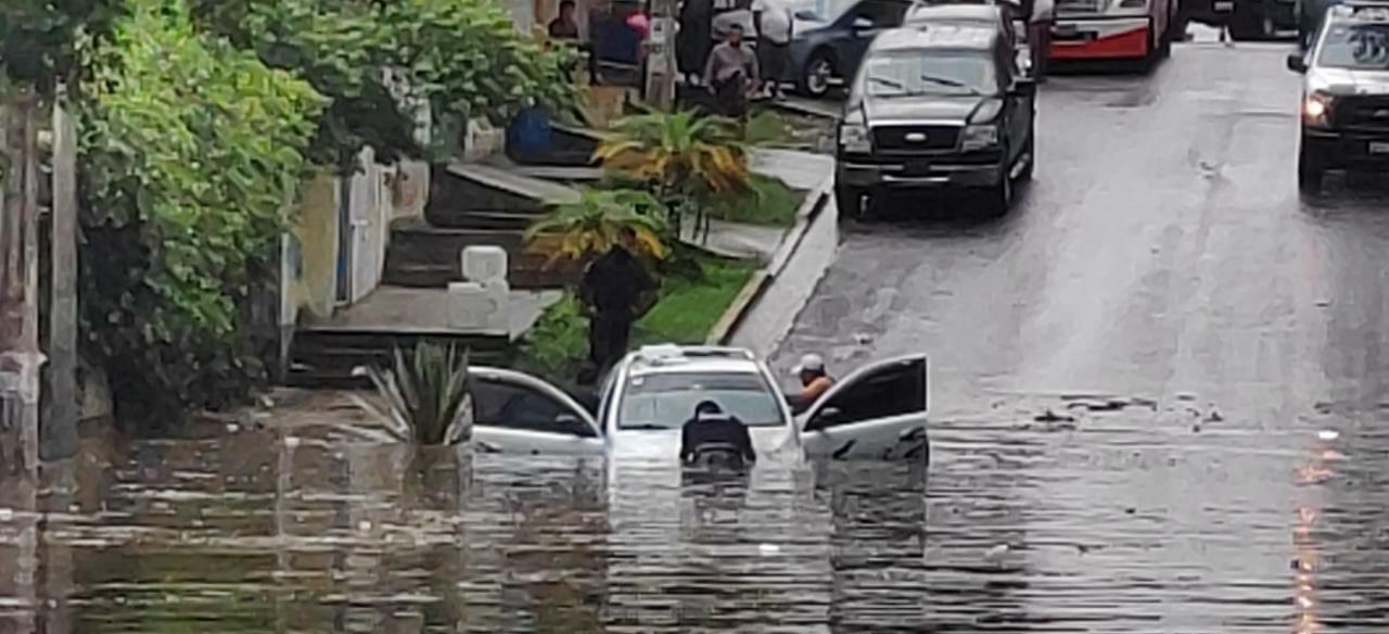 El menos 29 colonias con diversas afectaciones por lluvias, en Xalapa