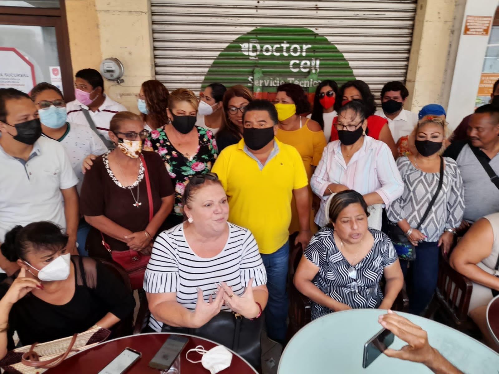 Cisma en el PRI del puerto de Veracruz: mujeres desconocen a Anilú y Marlon; amenazan con voto de castigo