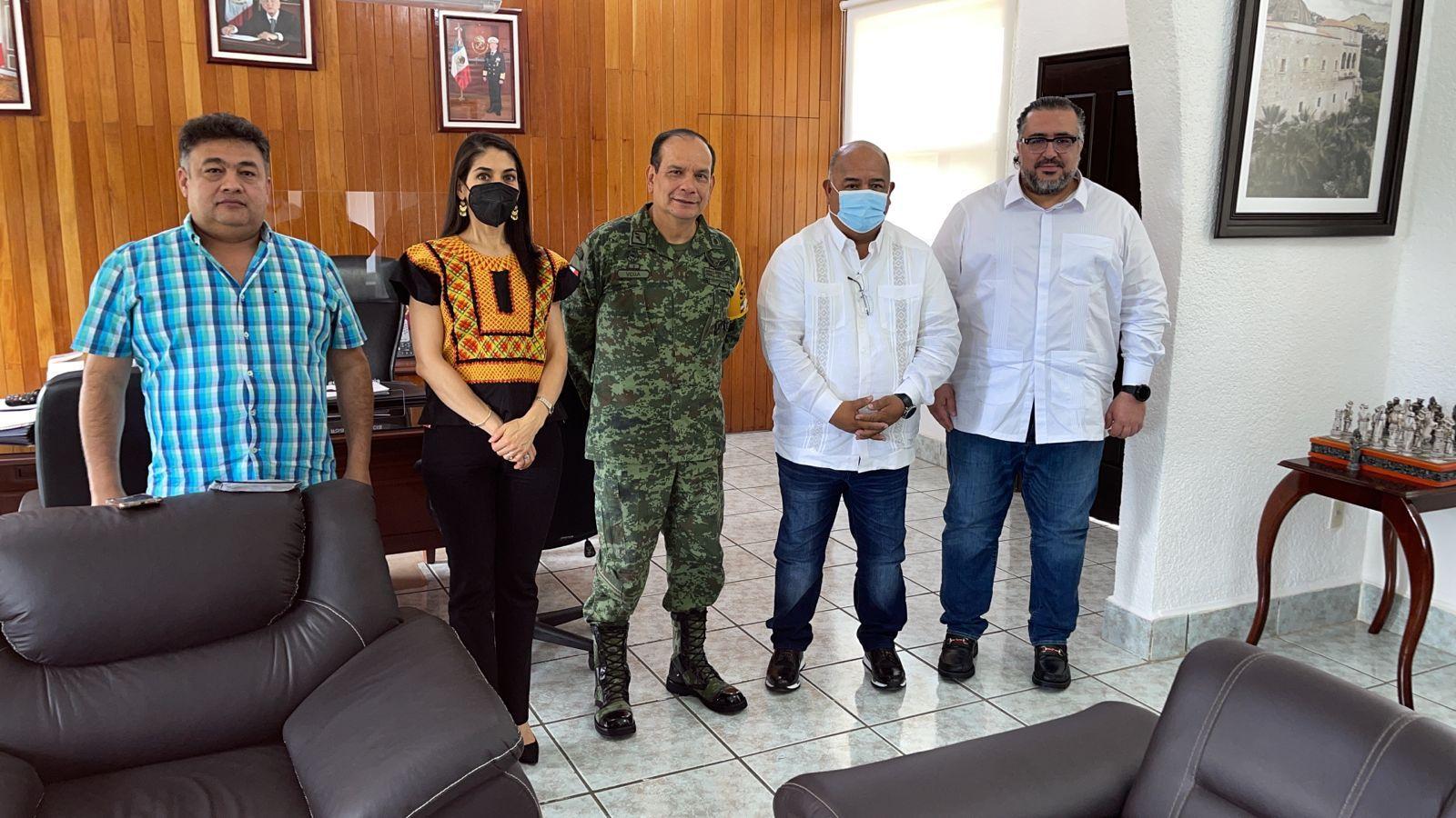 Gobiernos de Veracruz y Oaxaca atienden agenda común de seguridad