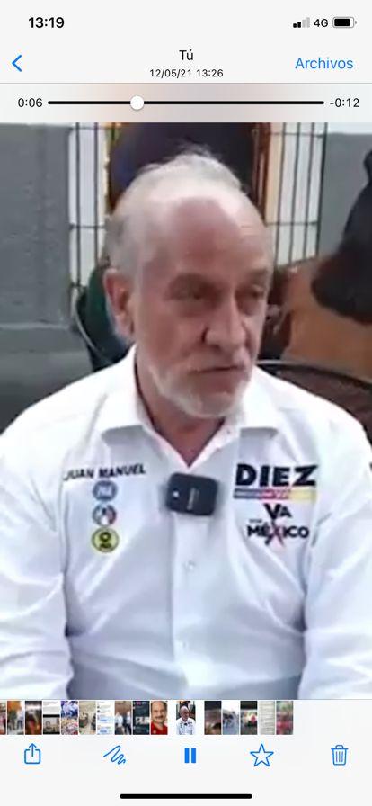 MORENA va contra Diez Francos; debe cancelarse su candidatura