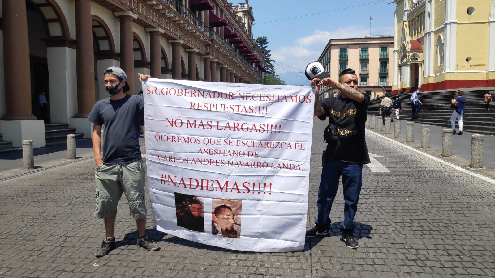 Exigen justicia por Carlos Andrés, FGE no informa avances de investigación contra policías