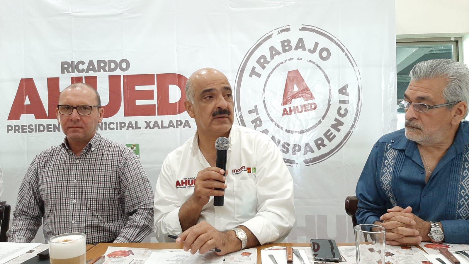 Mi gobierno será un motor de la economía: Ricardo Ahued
