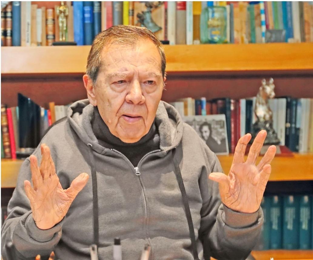 AMLO, está mareado de Poder: Muñoz Ledo