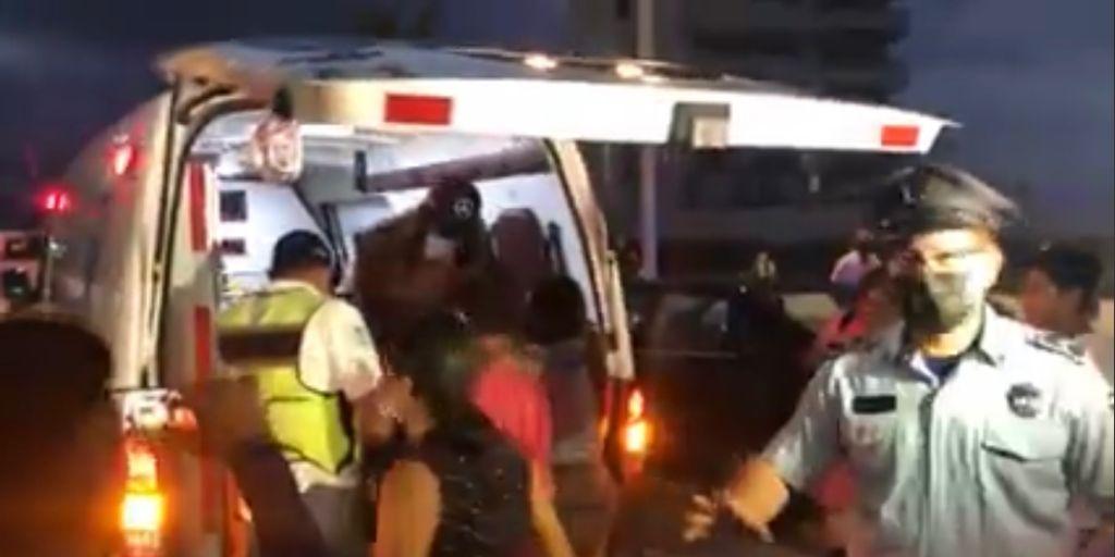Choca presuntamente alcoholizada candidata del PRD a la alcaldía de Boca del Río.