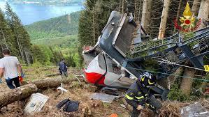 Detenidos 3 personas por desactivar freno de emergencia de teleférico en Italia.