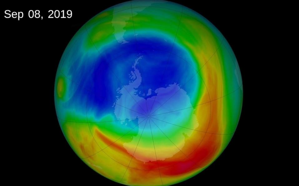 Covid provocó que agujero en zapa de ozono se cerrara.