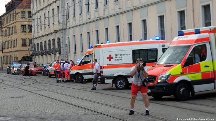 Varios muertos y heridos en ataque en Wurzburgo, Alemania
