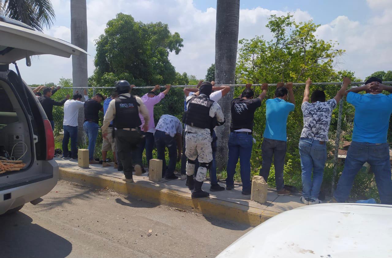 Detienen a grupo de choque panista en Pánuco