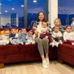 A sus 23 años, mujer presume a sus 21 hijos… y quiere más