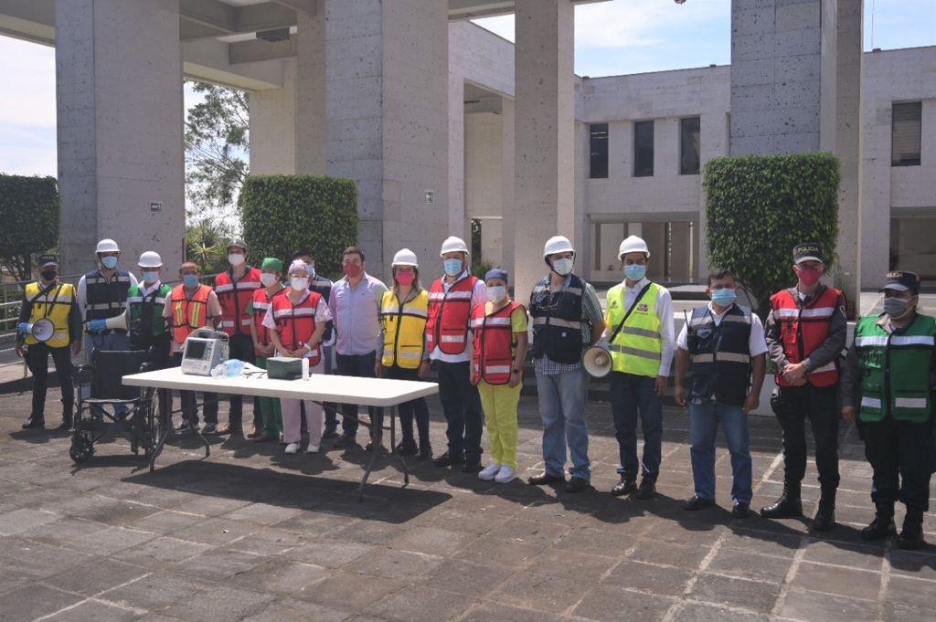 Realiza Congreso de Veracruz primer simulacro de sismo 2021