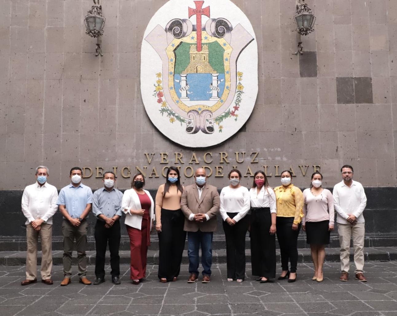 El secretario de Gobierno, Eric Cisneros, se reunió con alcaldes electos de la Cuenca del Papaloapan y de la región Xalapa