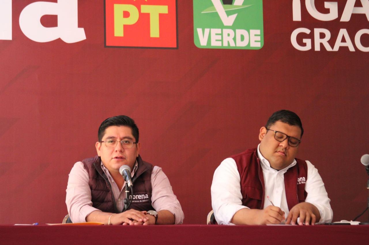 """""""Nos lo quieren robar"""": Morena defenderá el voto del pueblo en Tantoyuca y Veracruz"""
