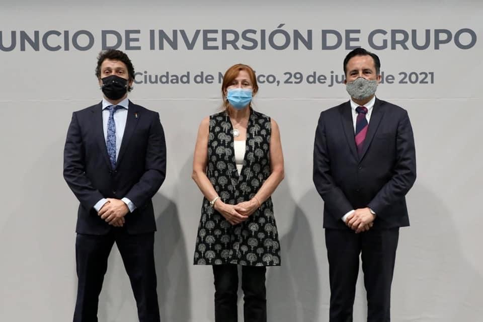 Bienvenida la inversión que apuesta a la reactivación económica de Veracruz: gobernador Cuitláhuac García