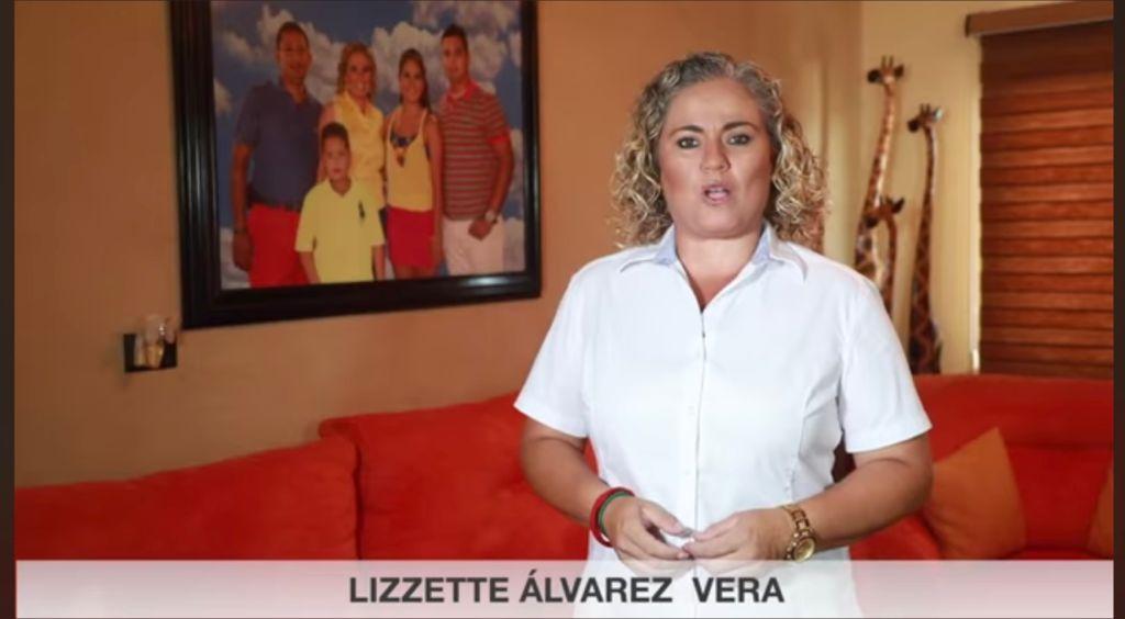 Lizzette Álvarez, la maestra, se proclama ganadora en Alvarado