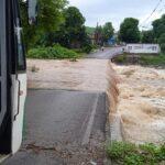 Incrementaron nivel de ríos Actopan y La Antigua