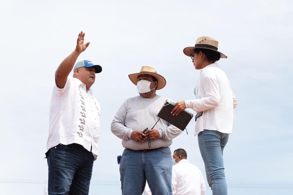 Supervisó Secretario de Gobierno de Veracruz construcción del cuartel de la Guardia Nacional en Sayula