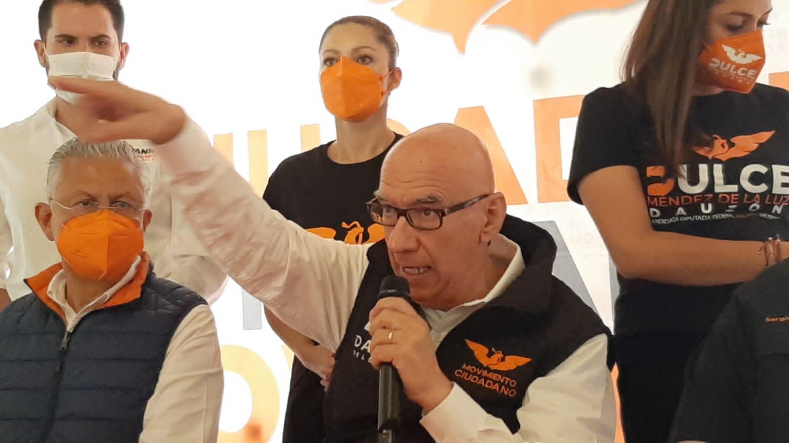 Anuncia Dante su regreso político a Veracruz