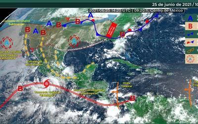 Jalisco, en alerta ante tormenta tropical 'Enrique'