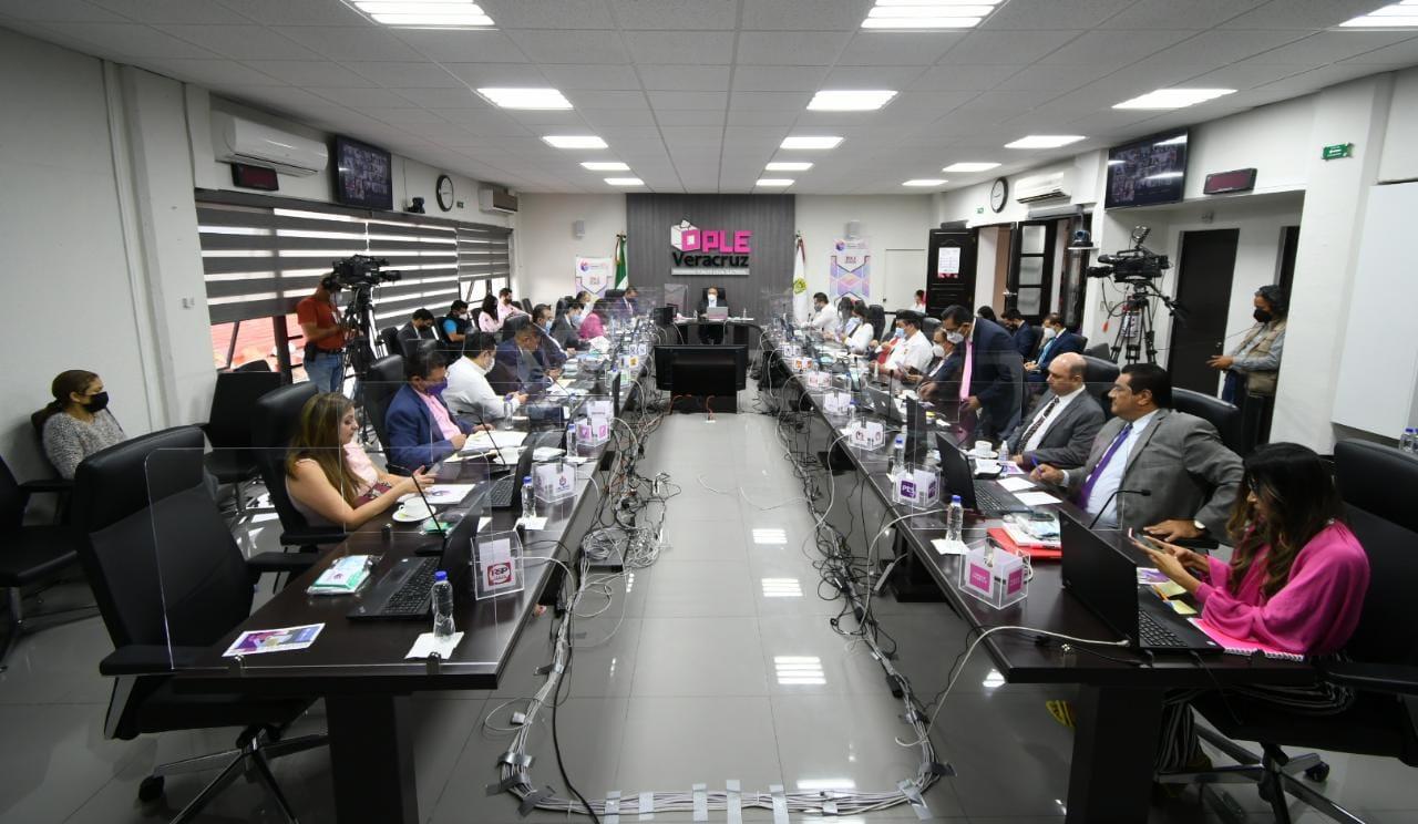 Inicia sesión permanente de vigilancia del OPLE Veracruz