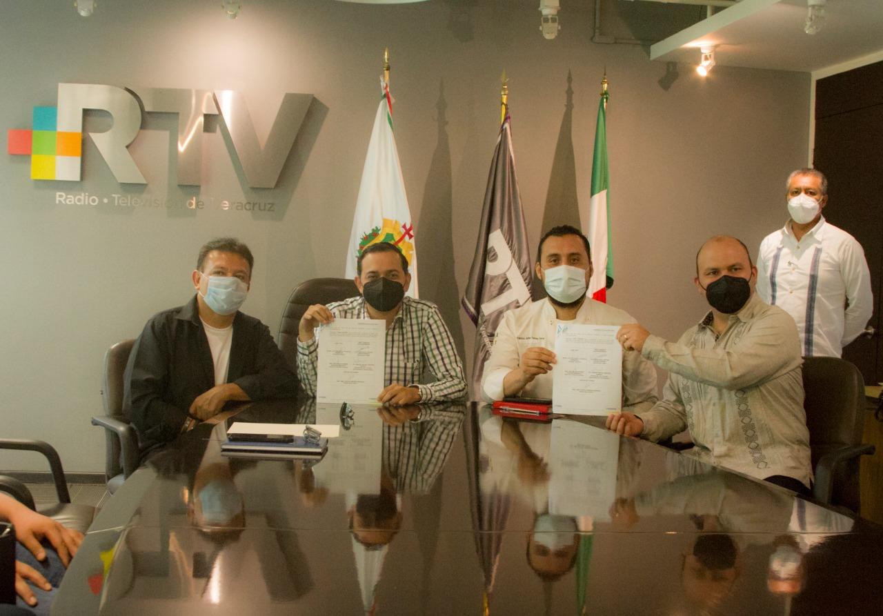RTV y el Consejo Gastronómico Veracruzano, firmaron convenio de colaboración