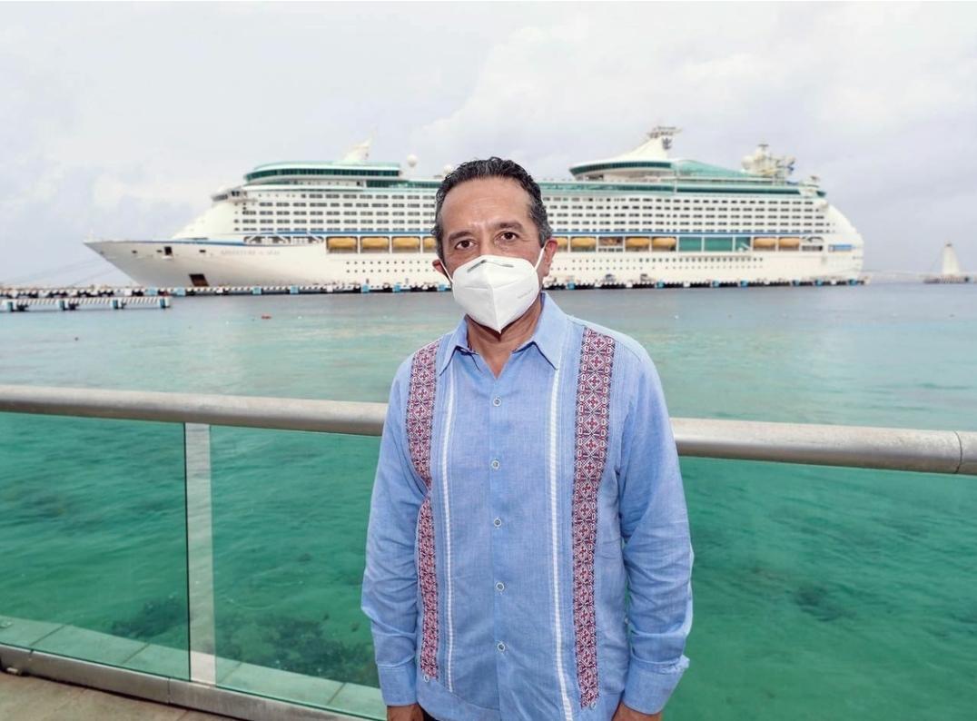Regresa Royal Caribbean a Quintana Roo después de 15 meses