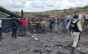 Colapsa mina en Múzquiz, reportan trabajadores atrapados en Coahuila.