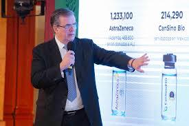 México dará vacunas Covid a 7 países: Ebrad.