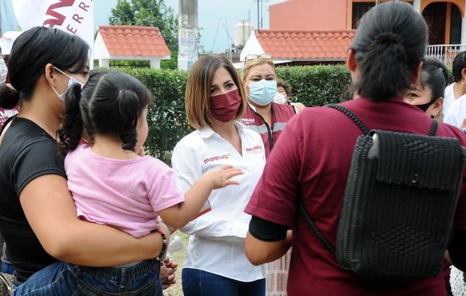 Con propuestas sólidas, Ana Miriam Ferráez se perfila a su cierre de campaña