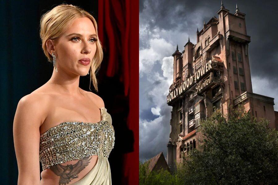 Scarlett Johansson protagonizará 'Tower of Terror