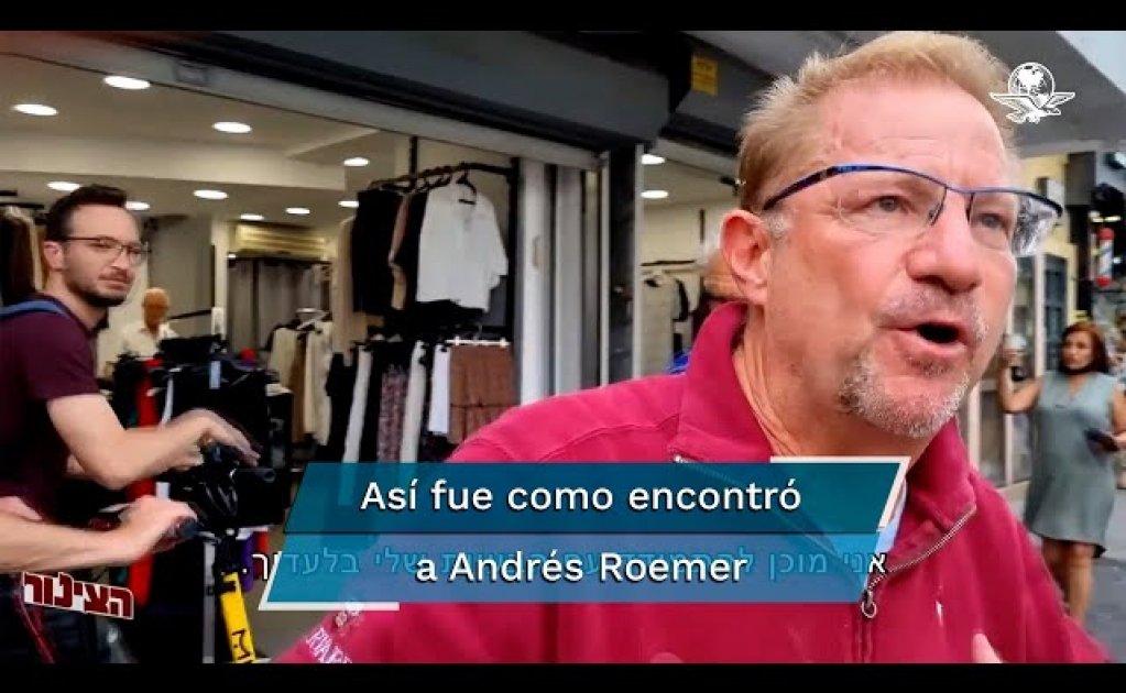 Detienen a Andrés Roemer y lo dejan libre en Israel