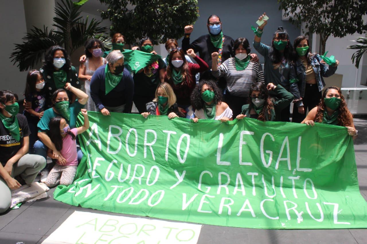 """""""Histórica"""" legalización del aborto; protegerá a mujeres, niñas y adolescentes veracruzanas"""